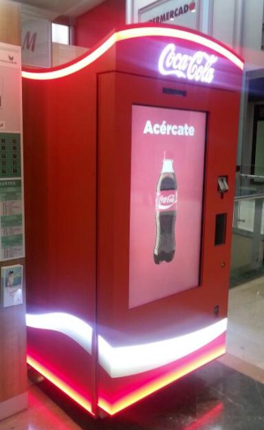 Smart Vending de InnovaPos para Coca-Cola