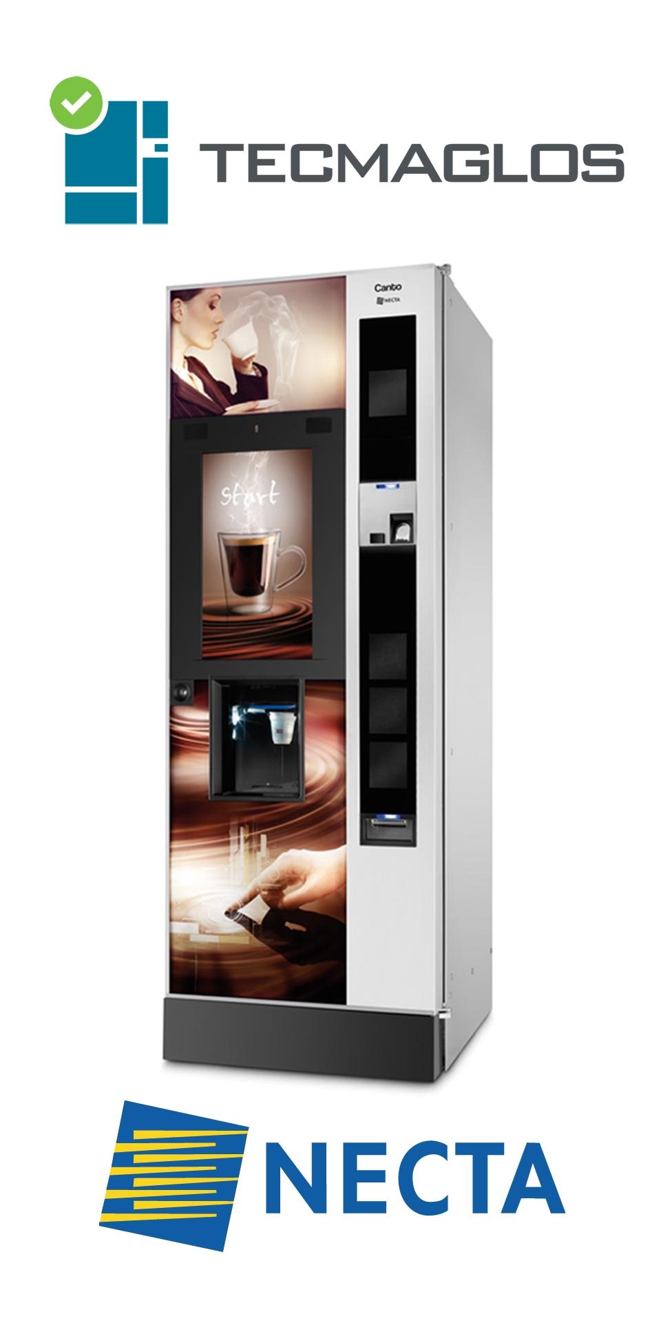 Máquinas Vending NECTA nuevas