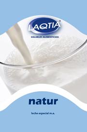 Leche soluble semidesnatada granulada especial para maquinas automáticas Laqtia