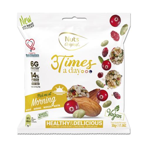 3 Times a day - Snack de la mañana