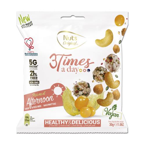 3 Times a day -Snack de la tarde