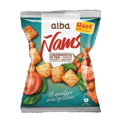 Ñams Tomate y Orégano
