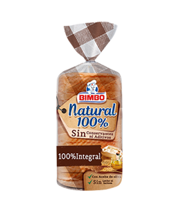 Pan integral bimbo 100%