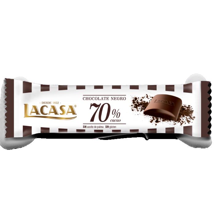 Barrita chocolate negro 70%
