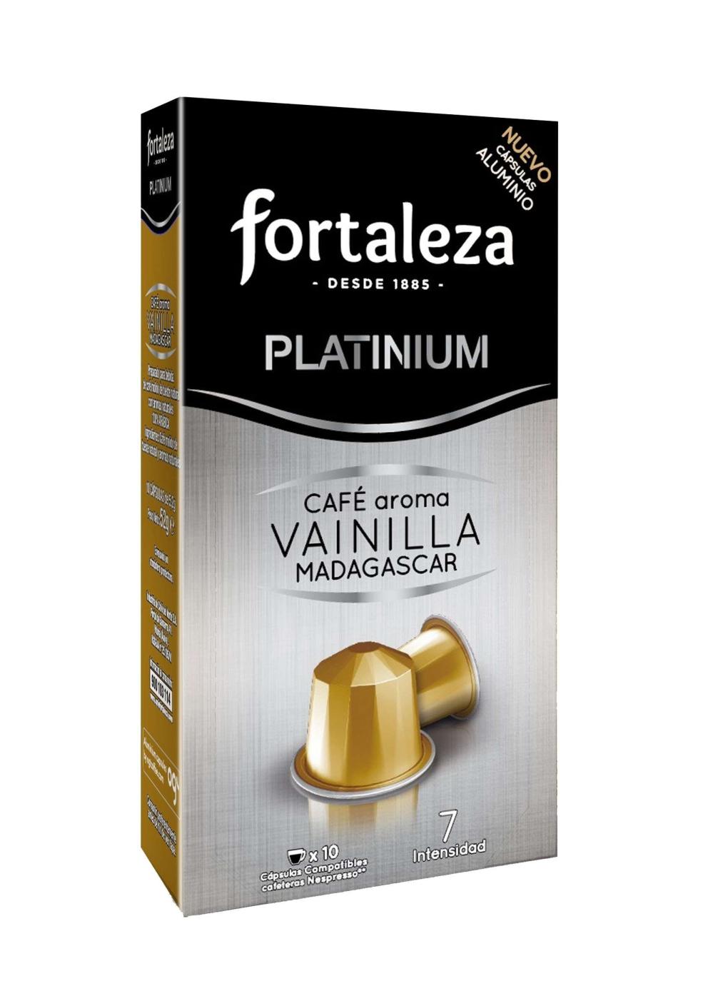 Cápsulas de Aluminio Aroma Vainilla Madagascar