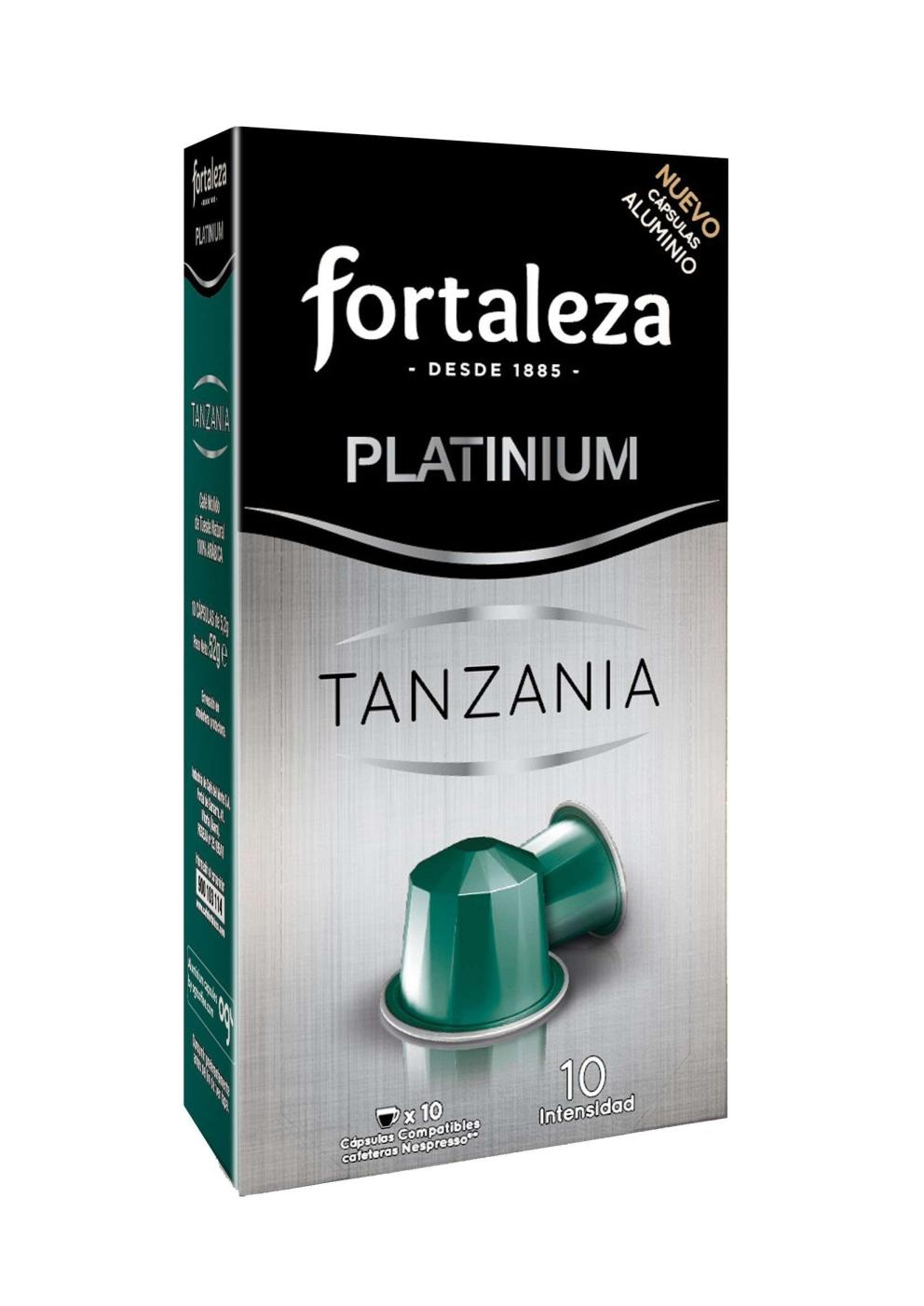 Cápsulas de Aluminio Tanzania