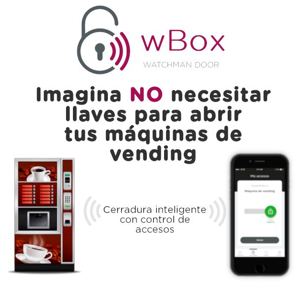No más llaves: Cerradura para máquinas de vending con apertura desde el móvil