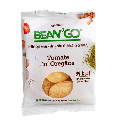 Chips de garbanzo - tomate y orégano