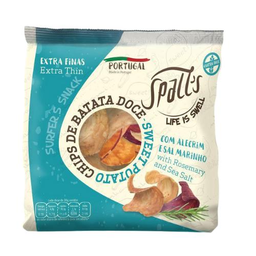 Chips de patata dulce