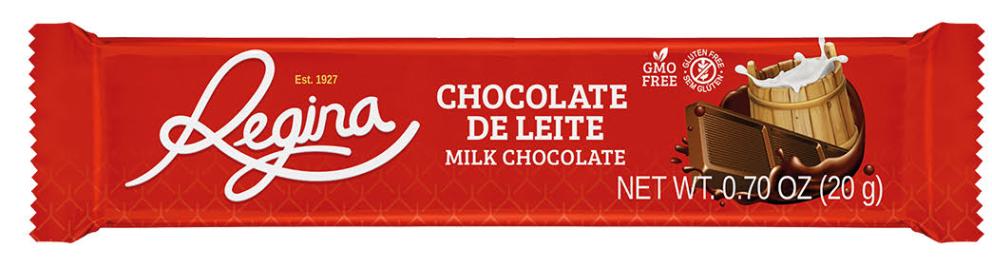 Chocolate con leche Regina 20g
