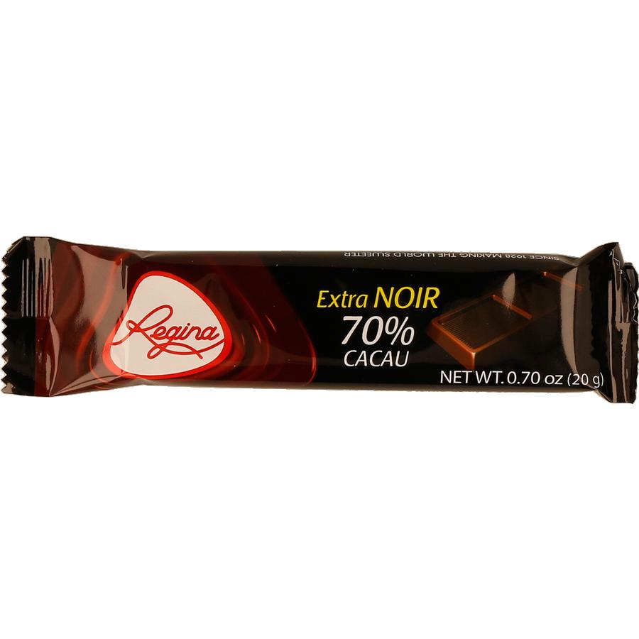 Chocolate negro extra-noir 70% cacao Regina 20g