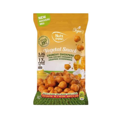 Crunchy Chickpeas - Miel y mostaza