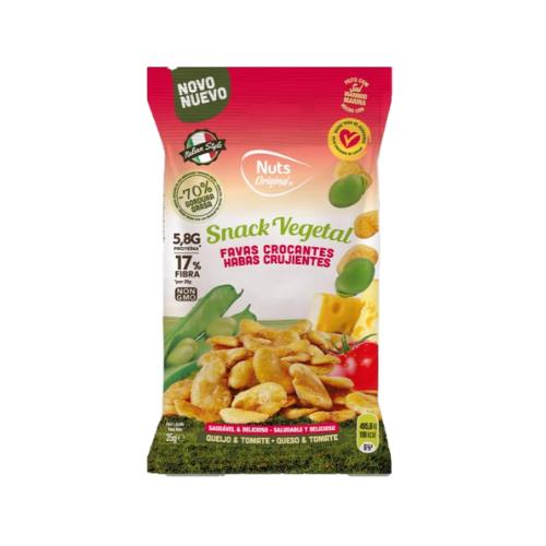 Crunchy Habas - Estilo Italiano
