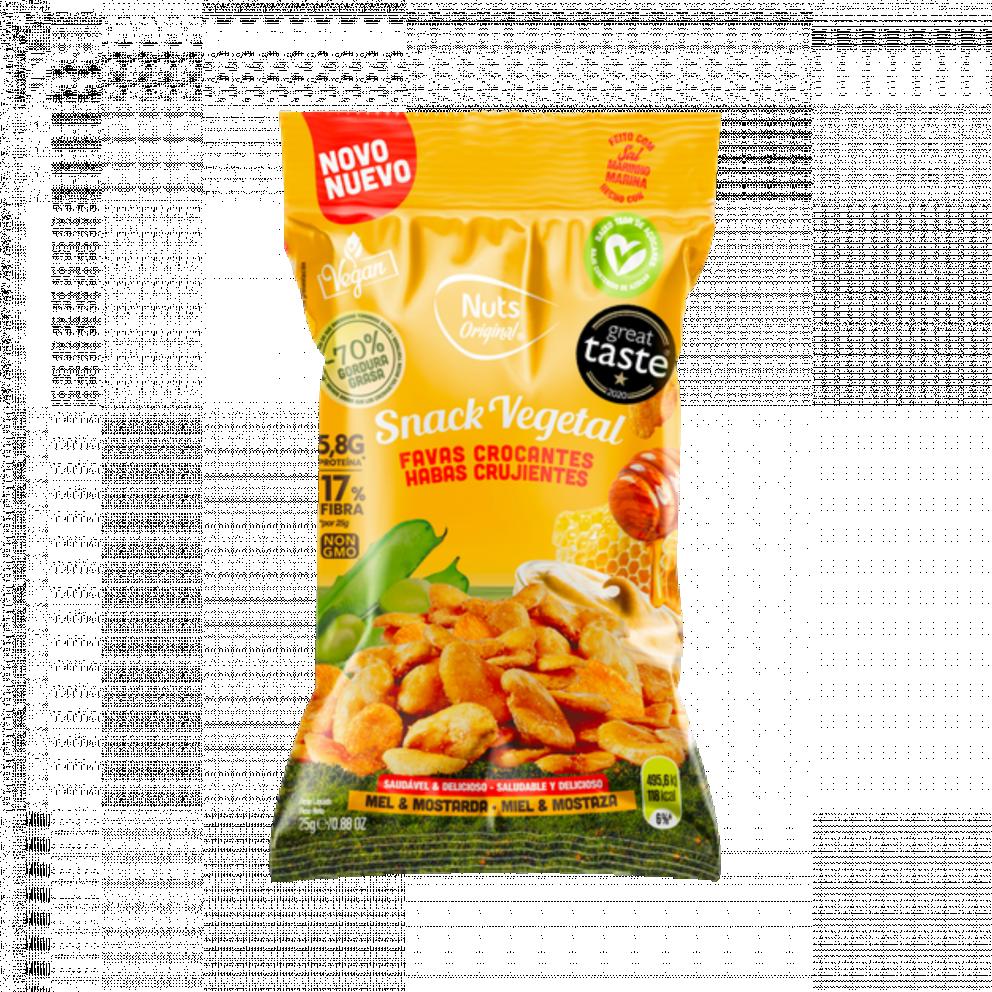 Crunchy Habas - Miel y mostaza