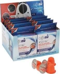 Detergente biodegradable para uso alimentario en cápsulas CAFENNU 10 uds