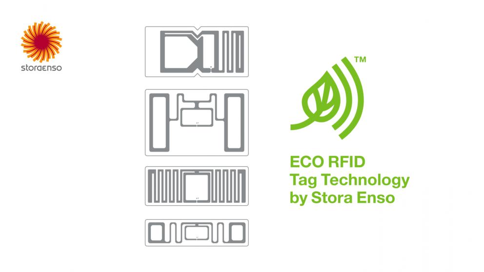 Etiquetas RFID ECO de Stora Enso