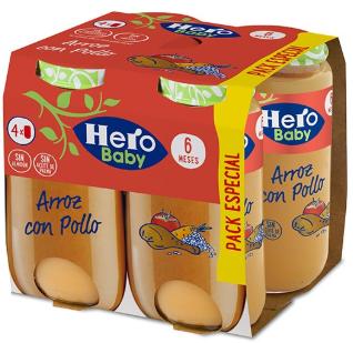 Pack Arroz con Pollo Tierno 4x235g