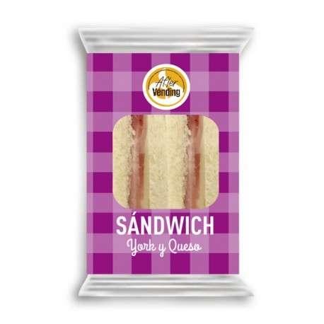 Sándwich de york y queso