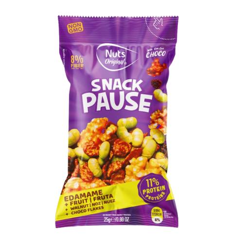 Snack Pause - Edamame+Fruta+Noz+Chocoflakes