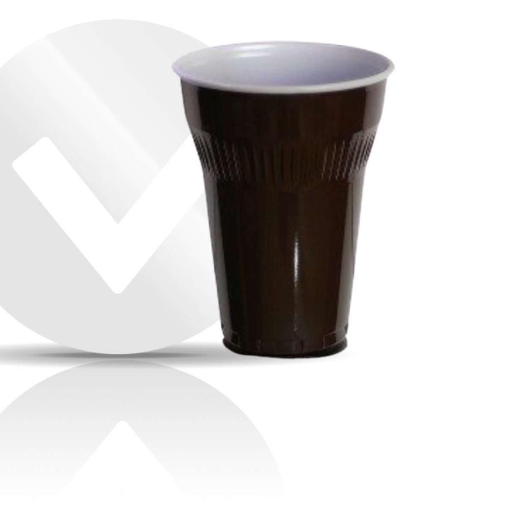 Vending Cup 130ccm Brown/White Swissprimepack 3000 unidades - (desde 28,75€/caja)
