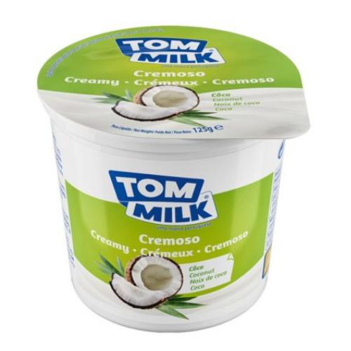 Yogur cremoso coco