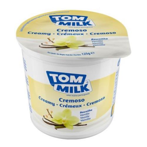 Yogur cremoso vainilla