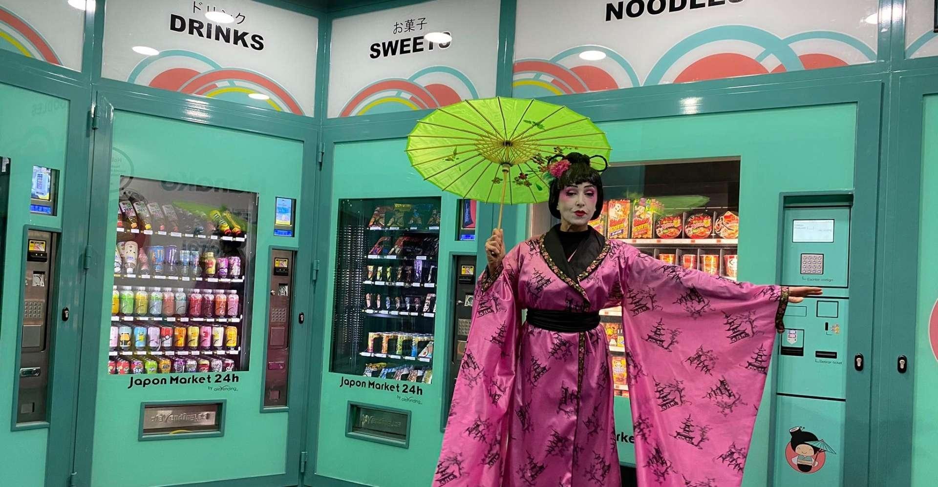 Japon Market 24 h Olevending