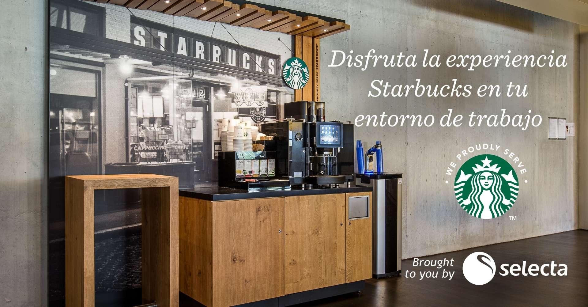 We Proudly Serve Starbucks