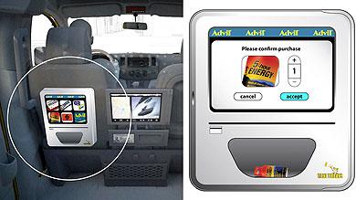 Las máquinas en los taxis se implantan en EE.UU