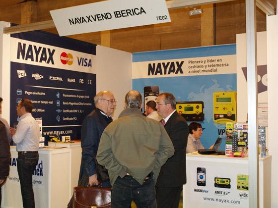 Nayax Vendiberica 2013