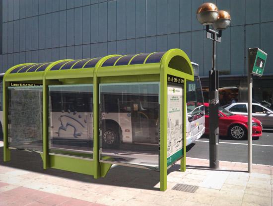 Metamorfosis de mobiliario urbano a m quina de vending y for Ejemplos de mobiliario urbano