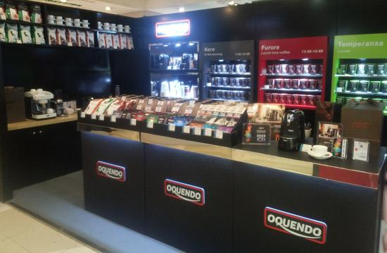 Corner Shop de Cafés Oquendo