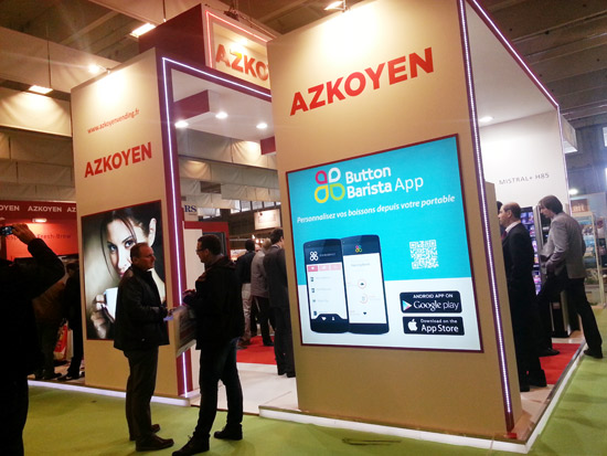 Azkoyen en Vending Paris