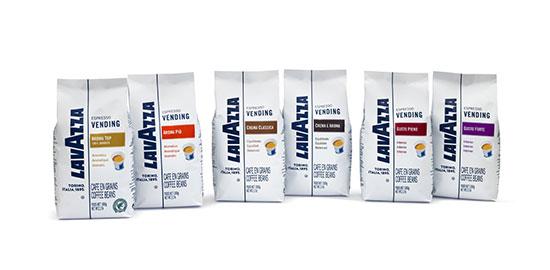 Nuevos cafés para el vending de Lavazza