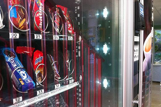 Portugal prohibe las chocolatinas en las expendedoras