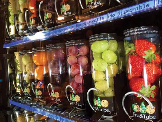 Los nuevos formatos que pretenden revolucionar el vending saludable la actualidad del vending - Fruta en la oficina ...