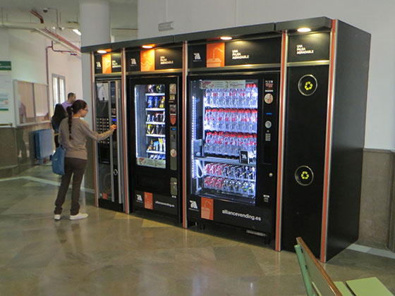 Vending en la universidad