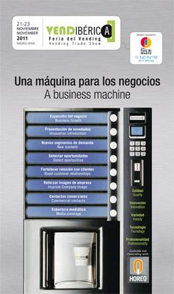 vendiberica horeq vending maquinas expendedoras machines feria madrid