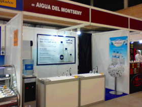 aigua montseny agua embotellada bottled water fuentes dispensadores vending expendedoras