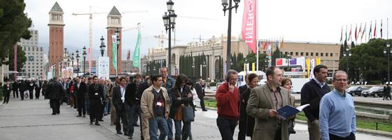 Arranca alimentaria 2010 hoy en fira de barcelona gran v a for Ferias barcelona hoy