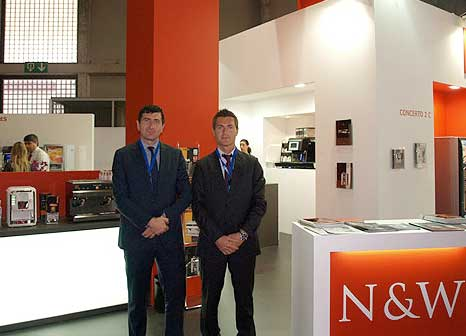 necta n&W global vending alimentaria