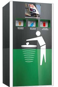 Especial reverse vending recoger reducir reutilizar - Maquina de reciclaje de plastico ...