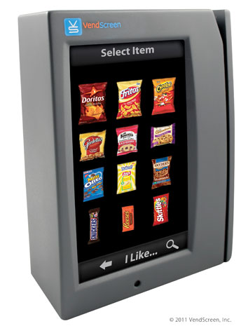 kit maquinas expendedoras vending pantallas tactiles touchscreen